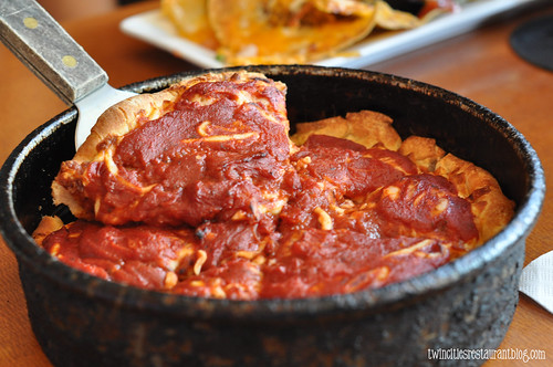 Deep Dish Pizza @ Green Mill