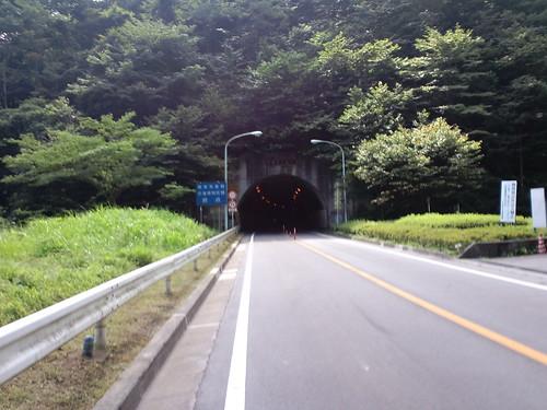 甲武トンネル(檜原側から)