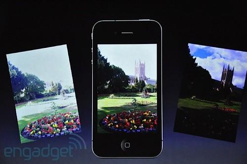 Apple iOS 4.1 HDR