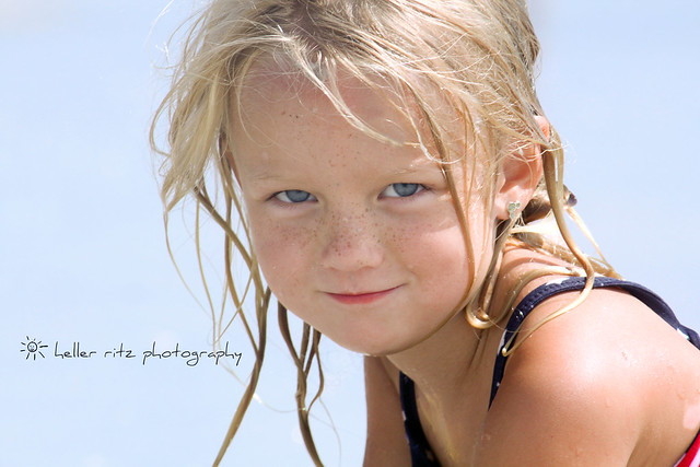Blue Eyes and the Beach_Tagged