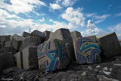 Blokken (Blocks) (m.veldman) Tags: sky zeeland windmills lucht neeltjejans zeeuwsvlaanderen zeelandbrug