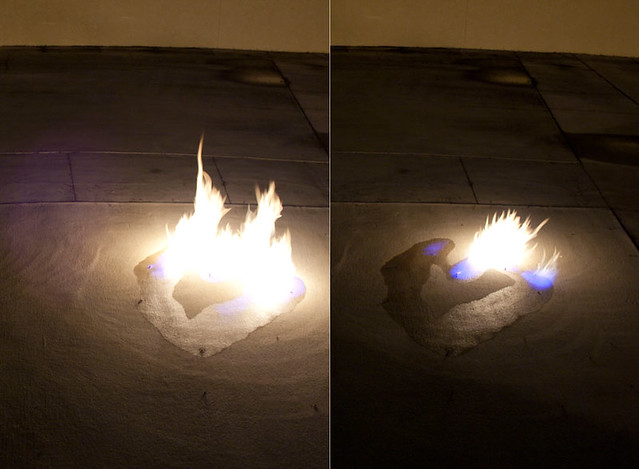 flame heart diptych