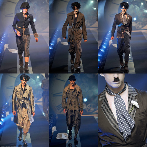 Chaplin on the Runway: John Galliano Menswear SS 2011