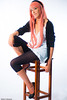 Vocaloid (Walter Pellegrini) Tags: portrait italy anime rome studio costume nikon comic shot cosplay manga videogames fumetti cosplayer cami luka d700 vocaloid megurine