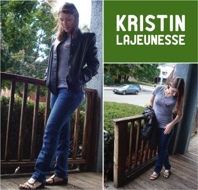Real Vegans: Kristin Lajeunesse