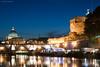 (Michele Cannone) Tags: bridge light rome roma reflection architecture night river landscape nikon san tevere nightlight nostalgic nightsky luci sanpietro architettura romanic castelsantangelo pietro romanico abigfave nikond3000