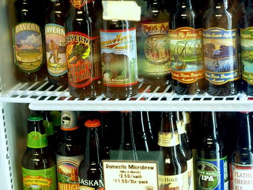 Beers at Polebridge Mercantile