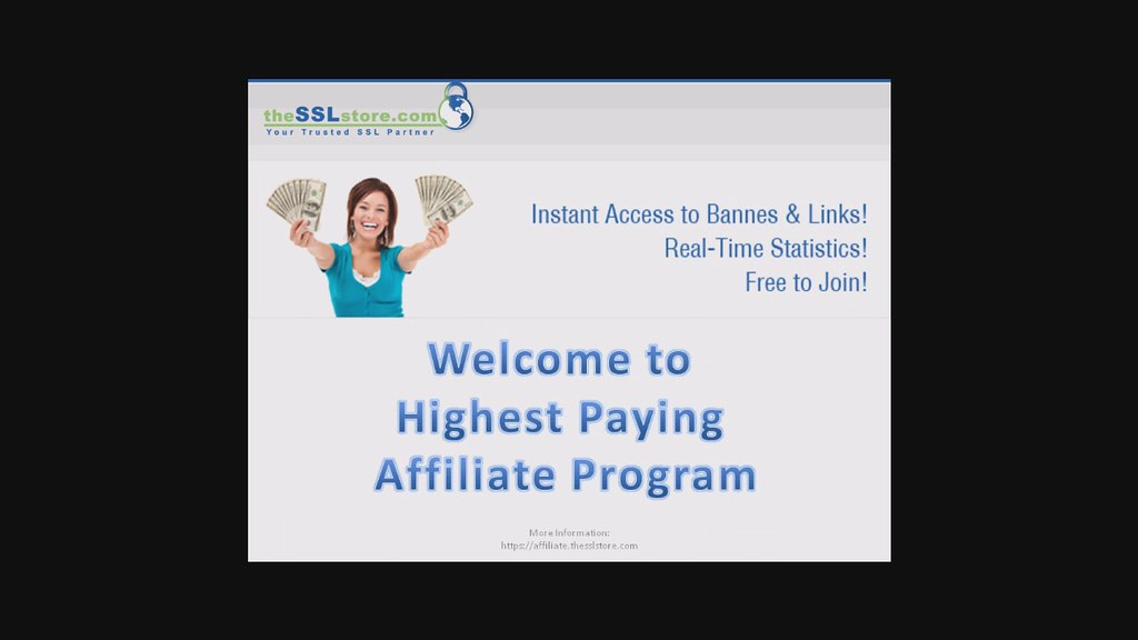 Highest Paying Affiliate Program: SSL Affiliates