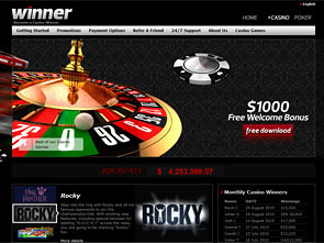Winner Casino Home