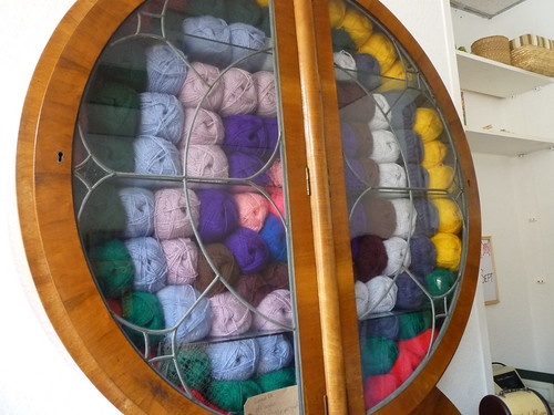 The yarn cupboard
