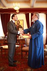 Συνάντηση ΥΠΕΞ κ. Δ. Δρούτσα με την Α.Μ. Αρχιεπίσκοπο Κύπρου κ.κ. Χρυσόστομο Β΄ (Υπουργείο Εξωτερικών) Tags: greek ministry politics cyprus greece foreign affairs dimitris ελλαδα ελληνικό πολιτική κύπροσ δημήτρησ υπουργείο εξωτερικών δρούτσασ droutsas