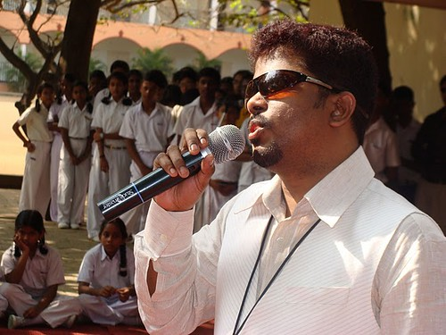 A Living inspiration differently abled Mr. Ilango