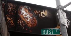 Kea vs. Les (Now It's Real!) Tags: new york city nyc ny les graffiti beef graf tags queens graff pk kea picnik qu veo fillin rfw
