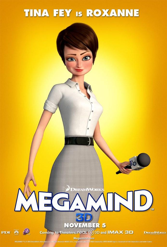 Megamind Tina Fey Roxanne