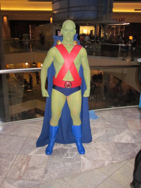 Martian Manhunter at DragonCon 2010