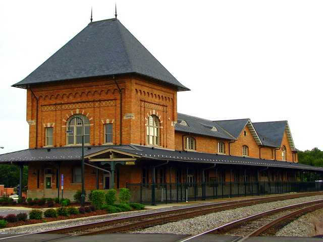 Bristol, VA Train Depot