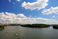 Potomac River from Key Bridge Washington, DC (mbell1975) Tags: usa river us dc washington center georgetown potomac kennedy watergate ilobsterit