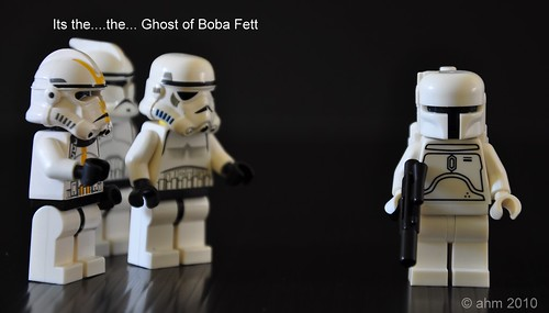 Star Wars White Boba Fett Star Wars Lego White Boba Fett