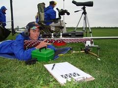 David Shooting Prone