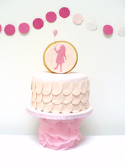 Pink Cake (neviepiecakes) Tags: birthday pink party girl cake children