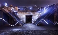 will o' the wisp (eb78) Tags: ue urbex urbanexploration abandoned lightpainting batteryboutelle sf sanfrancisco presidio nightphotography army ca california npy