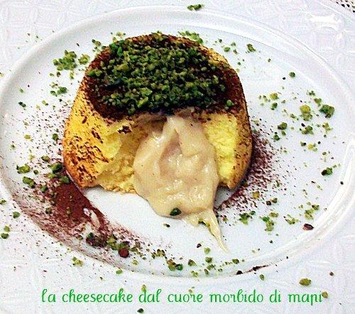 cheesecake dal cuore morbido- mapi