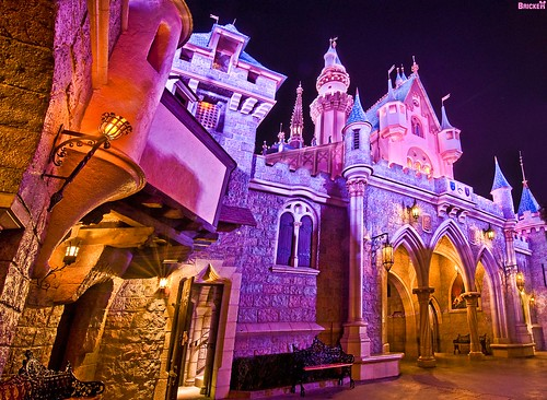 Back of the Front of Sleeping Beauty Castle