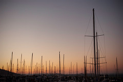 (Justin Morley) Tags: ocean blue sunset yard marina pier boat san pacific yacht sail fransisco sanfransisco