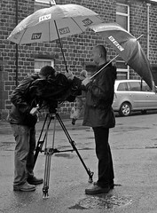 Cutbacks? (Craig Hannah) Tags: pictures uk england news photography photos yorkshire report images photographs bbc oldham pennine cameramen itv saddleworth outsidebroadcast greatermanchester westriding uppermill craighannah