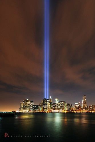 NYC 9/11 Tribute in Light