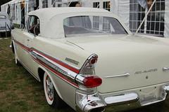1957 Pontiac Bonneville (Black Rock Photo) Tags: auto classic car automobile gm detroit chrome 1957 restored pontiac 50s fin westport concours bonneville fins