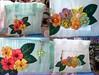 Sacola Ecológica (Fuxico de Chita) Tags: de flor artesanal feira fuxico feltro nylon tecido aplicação sacola ecológica