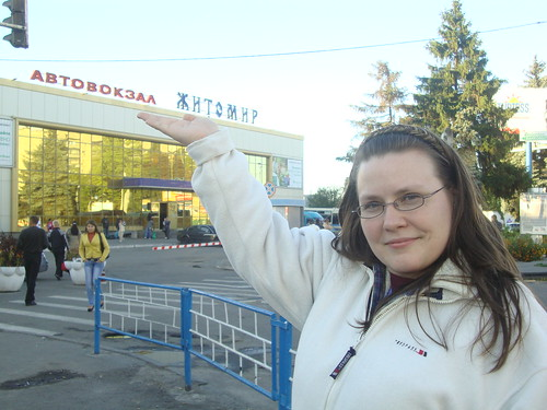 Zhytomyr Bus Stop!