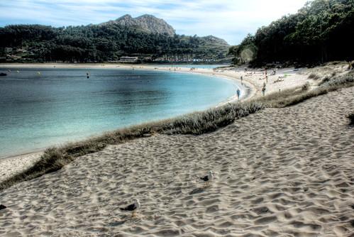 Rodas beach. Cíes, Galicia. Playa de rodas