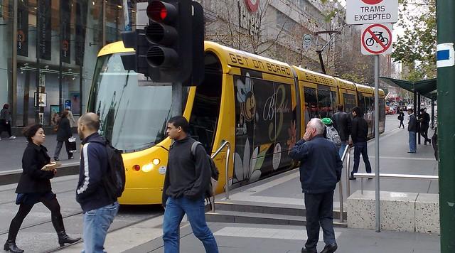 "Citadis C2 (""Bumblebee"") tram"