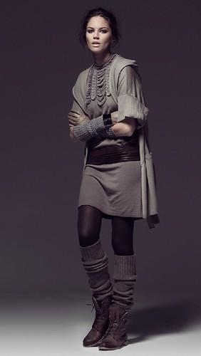 Moda mujer otoño-invierno 2010-2011, ropa para mujer de Hoss Intropia