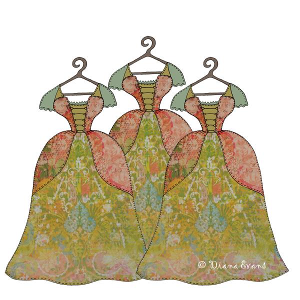 scrap dresses