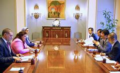 外務省では、ワファー・バスィーム筆頭次官と会談