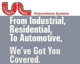 ultimate linings specialist in polyurethane coating, insulation, spray coatings