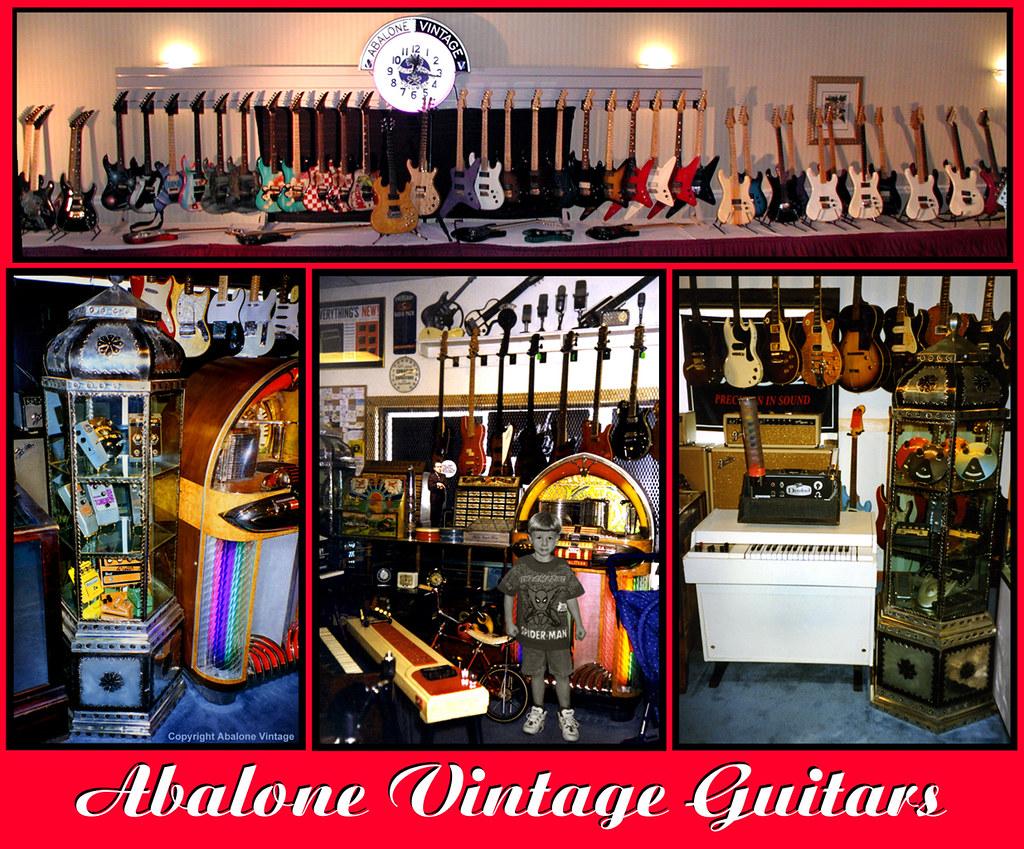 Vintage Guitars Vintage Amps Vintage Effects Abalone Vintage Guitars