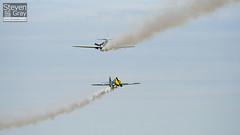 G-FUNK & G-JYAK - Aerostars Team - Yakovlev Yak-50 - Duxford - 100905 - Steven Gray - IMG_8028