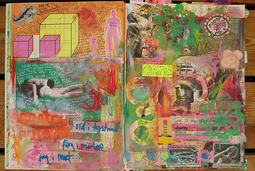 Art Journaling; Dive In