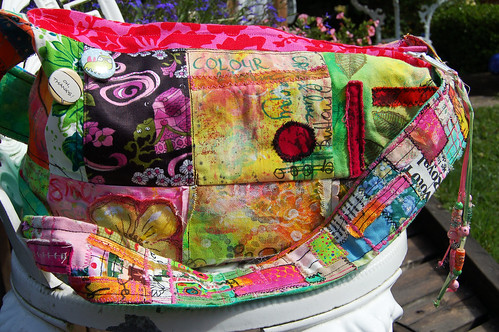 Love my mixed media Happy Bag