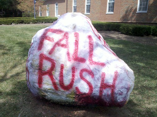 IFC Fall Rush Rock