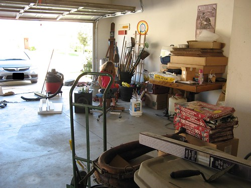 Fixing the Garage to my Art Studio