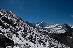 Zinalrothorn and Glacier de Moming Photo