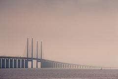 001423 (Werner Nystrand) Tags: bridge skne mood sweden sverige bro malm resundsbron oresundbridge colorimage stmning liggande frgbild