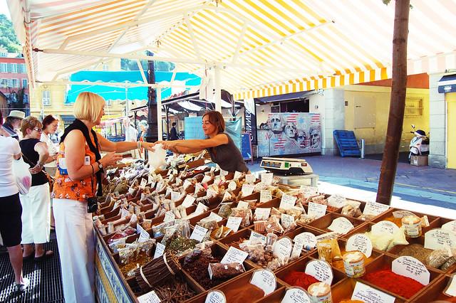 Market in Old Nice, France