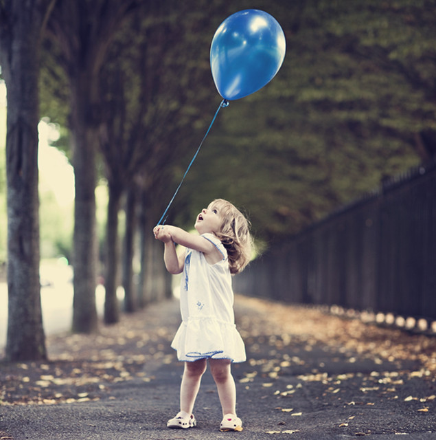 Nobody can be uncheered with a balloon...