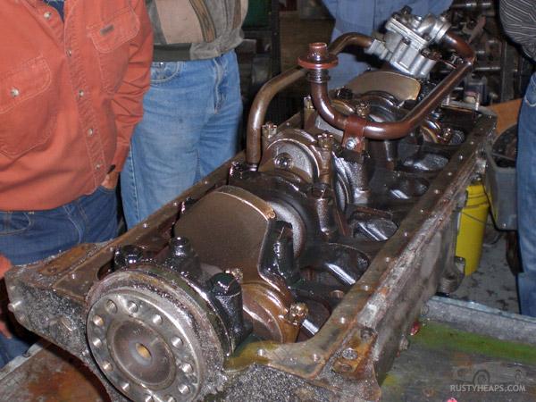 XK Engine Teardown: Sump Off